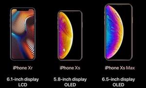 Giới thiệu 3 sản phẩm iPhone XS, XS Max, iPhone Xr của Apple