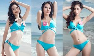 Ngắm trọn sắc vóc 43 thí sinh Hoa hậu Việt Nam với bikini trước thềm chung kết
