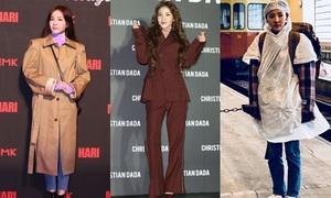 Loạt trang phục khó tả của Dara khiến fan 'há hốc mồm'
