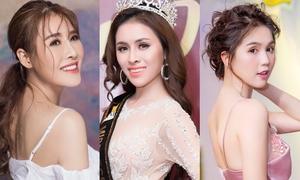 Những người đẹp bước ra từ các cuộc thi 'ao làng'