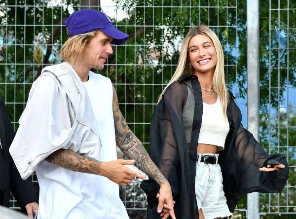 Hình ảnh gần đây nhất của Justin và Hailey.