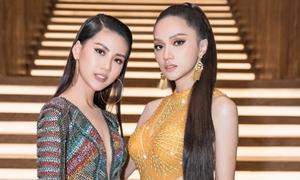 Hương Giang đẹp lấn át học trò quán quân siêu mẫu khi hội ngộ