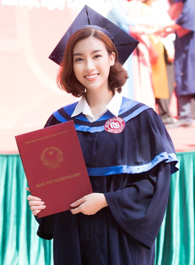 <p> Kết thúc nhiệm kỳ hoa hậu, Đỗ Mỹ Linh có ý định học lên Thạc sĩ ngành Quản trị Kinh doanh. Thêm nữa, cô đang xem xét việc sẽ đi du học tại Anh.</p>