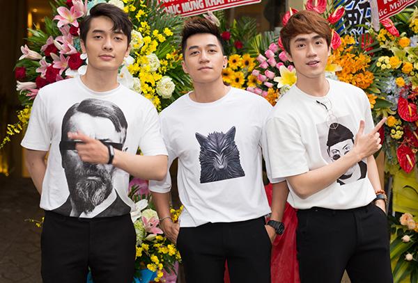 3 chàng trai nhóm The Wings