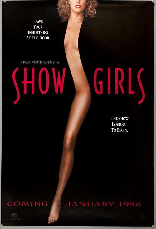Poster đầy khiêu khích của phim.