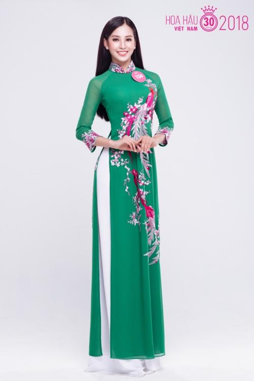 Tân hoa hậu Việt Nam 2018 Trần Tiểu Vy.