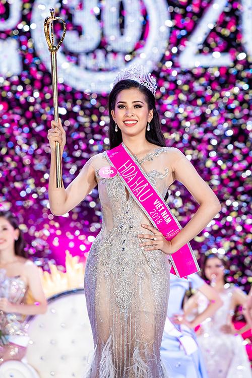 Tân Hoa hậu Việt Nam 2018 - Trần Tiểu Vy.