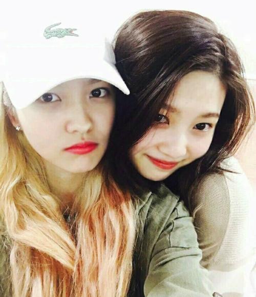 Cặp em út đáng yêu của Red Velvet.