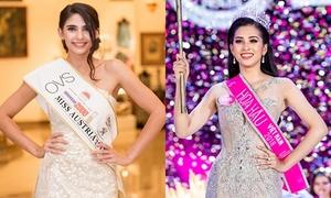 Hoa hậu Áo xem Trần Tiểu Vy là 'đối thủ đáng gờm' tại Miss World