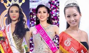 Những người đẹp đăng quang Hoa hậu Việt Nam khi mới 18 tuổi