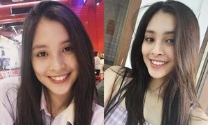 Không khóa Facebook sau đăng quang, Trần Tiểu Vy tăng gần 30.000 theo dõi sau một đêm