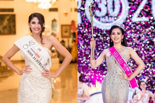 Hoa hậu Áo xem Trần Tiểu Vy là đối thủ đáng gờm tại Miss World - 1