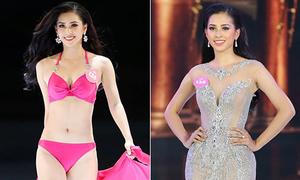 Thí sinh Hoa hậu Việt Nam 'hack dáng' khéo léo bằng đầm tạo eo giả