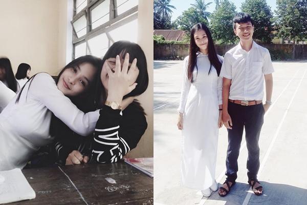 Đọ vẻ thiên thần áo trắng của top 3 Hoa hậu Việt Nam 2018 - 1