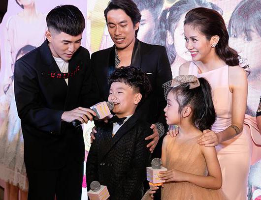 An Nguy - Kiều Minh Tuấn vui vẻ giao lưu với khán giả sau scandal tình cảm.