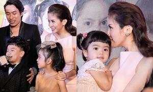 An Nguy bất ngờ đưa con gái nuôi ra mắt phim cạnh Kiều Minh Tuấn