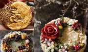 Những chiếc bánh trung thu 'nhìn không nỡ ăn' vì quá đẹp