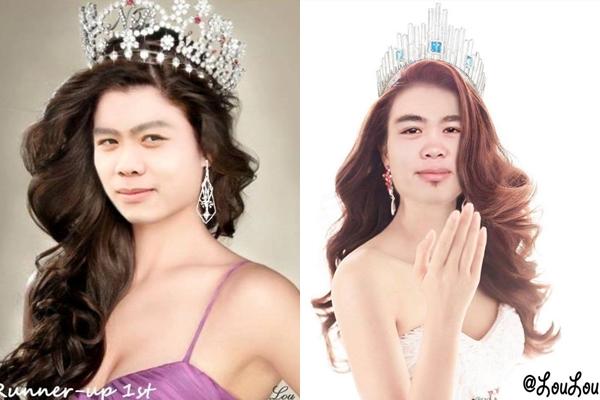 Công Phượng khiến fan cười vỡ bụng vì được nhận xét giống như nữ hoàng hơn là hoa hậu.