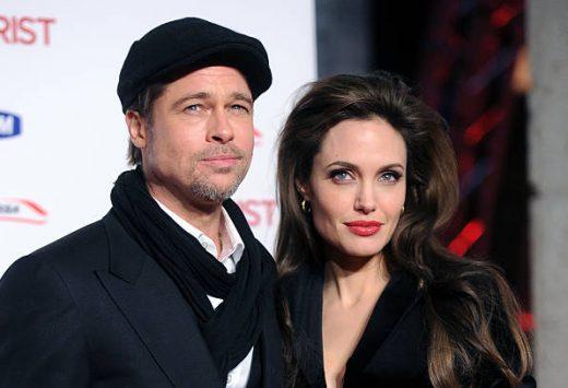 Angelina nộp đơn ly hôn Brad Pitt vào tháng 9/2016.