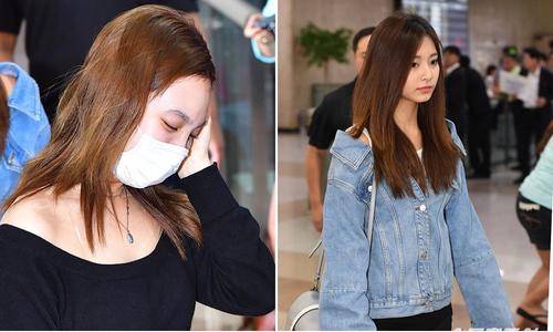 Twice thiếu sức sống ở sân bay, Tiffany tái xuất cá tính
