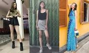 Style đời thường của Top 3 Hoa hậu Việt Nam 2018