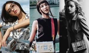 Loạt túi mini mới sắm của dàn mỹ nhân Việt
