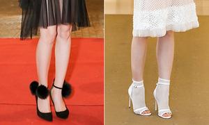 4 kiểu giày 'quá sai' khiến sao Việt 'chân dài cũng thành ngắn'