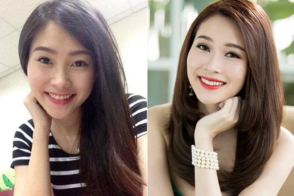 So với lúc trang điểm đậm, Thu Thảo với lối makeup tự nhiên ở đời thường trông trẻ trung, dễ mến hơn hẳn. Hoa hậu Việt Nam 2012 là minh chứng cho việc xinh đẹp không cần son phấn.