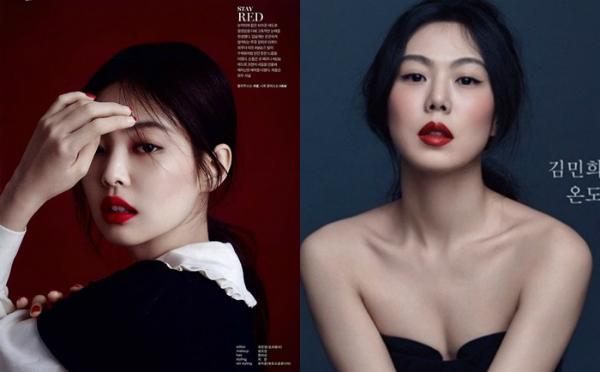 Ở nhiều bức ảnh, góc nghiêng của Jennie gợi nhớ đến nàng thơ của điện ảnh Hàn, Kim Min Hee.