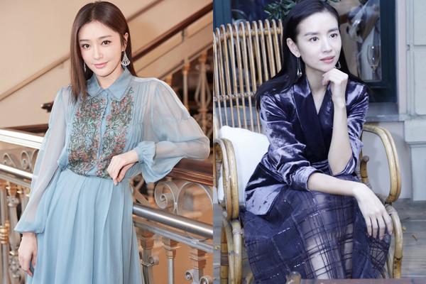 Cũng trong khuôn khổ Milan Fashion Week, Tần Lam và Đổng Khiết tham dự  sự kiện với phong cách khác biệt. Đổng Khiết chuộng đồ sang trọng, đúng  tuổi còn Tần Lam thích phong cách nữ tính, nhẹ nhàng.