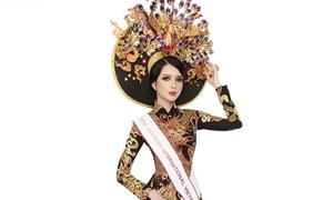 Huỳnh Thúy Vi vào top 3 trang phục truyền thống Miss Asia Pacific International