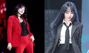 Những nữ idol Kpop diện suit cool ngầu 'chuẩn không cần chỉnh'