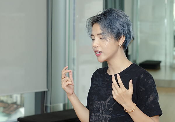 Vũ Cát Tường mướt mồ hôi tập luyện cho Asia Song Festival - 5