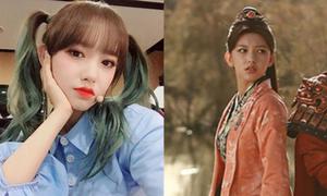 Nữ idol Kpop về Trung Quốc đóng phim cổ trang, fan không nhận ra