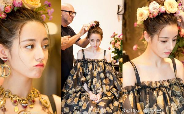 Vẻ đẹp được ví nữ thần trong truyện cổ tích của Địch Lệ Nhiệt Ba.