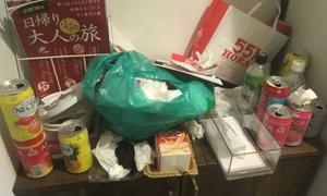 3 nữ sinh Trung Quốc hứng 'gạch đá' vì biến nhà thuê thành bãi rác
