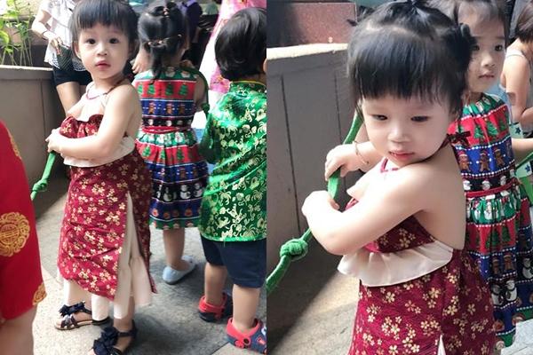 Công chúa nhà Diễm Trang xúng xinh váy đẹp