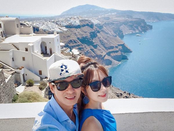 Lý Hải - Minh Hà trốn con hẹn hò lãng mạn ở Hy Lạp