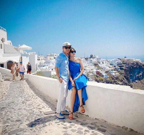 Lý Hải - Minh Hà trốn con hẹn hò lãng mạn ở Hy Lạp - 3