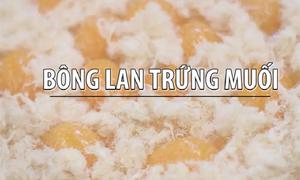 Bông lan trứng muối cho ngày thu Hà Nội