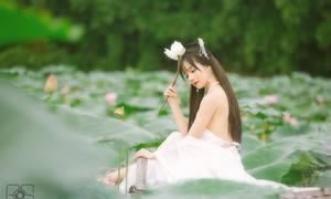 Fan nữ gây sốt báo Hàn kỳ Asiad hóa 'nàng tiên' xinh đẹp
