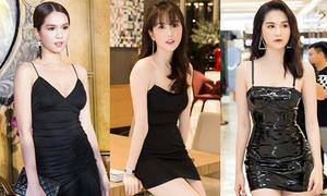 Ngọc Trinh không tiếc tiền sắm kiểu váy 'chục chiếc như một'