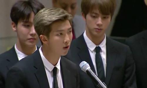 Lần đầu phát biểu tại Liên Hợp Quốc, BTS khiến fan nổi da gà với thông điệp thức tỉnh giới trẻ