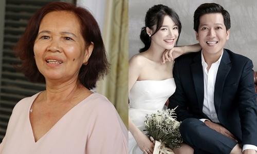Trường Giang hứa với mẹ vợ: 'Con sẽ lo cho Nhã Phương, má yên tâm'