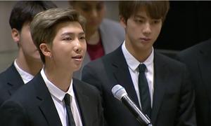 Trưởng nhóm BTS bị chỉ trích 'ích kỷ' sau bài phát biểu ở Liên Hợp Quốc
