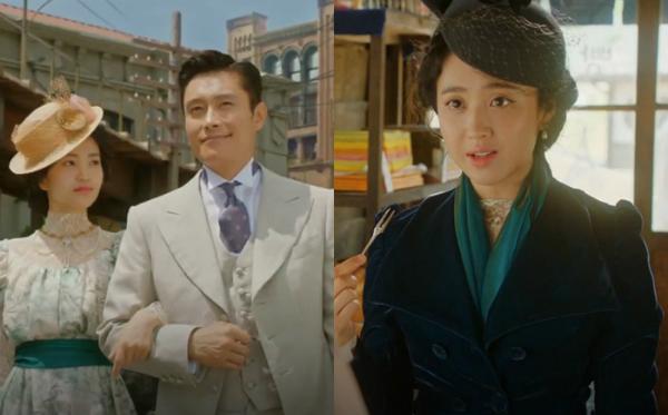 Mr. Sunshine - bộ phim lấy bối cảnh những năm 1910 - đang là drama lịch sử ăn khách hàng đầu tại Hàn Quốc. Bên cạnh những bộ hanbok truyền thống, phim còn ghi điểm với khán giả nhờ những trang phục theo phong cách châu Âu.