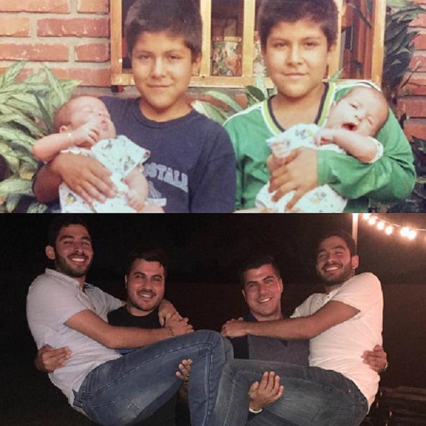Vẫn là 2 cặp sinh đôi ấy, và 19 năm sau.