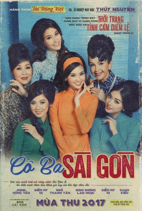 Poster phim Cô Ba Sài Gòn.