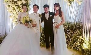 Minh Hà đáp antifan vì bị soi mặc đồ lấn át cô dâu ở tiệc cưới Nhã Phương