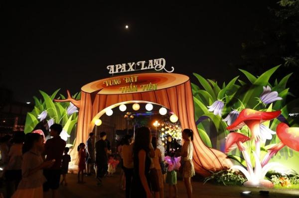 Apax Land - dấu ấn mùa thu 2018 cho trẻ em Hà Nội.